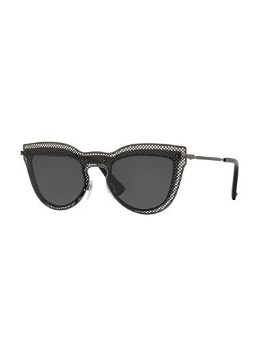 Valentino Valentino 0Va2018 303987 33 Ekartman Kadın Güneş Gözlüğü Siyah
